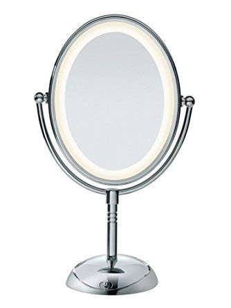 Conair Double Sided Lighted Makeup Mirror Lighted Vanity Makeup