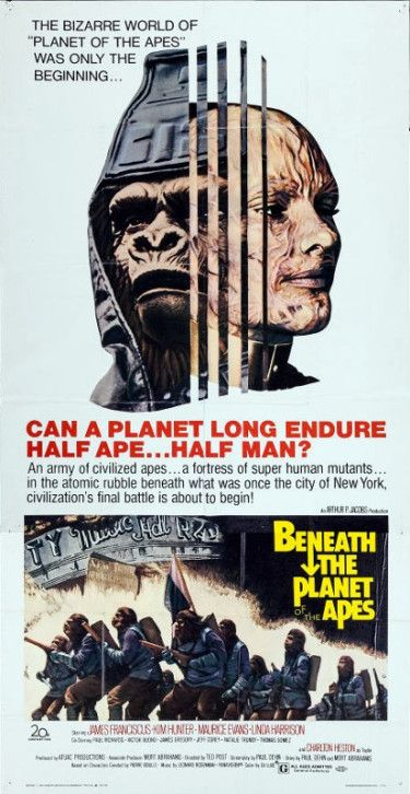 Beneath The Planet Of The Apes 1970 Planet Of The Apes Movie