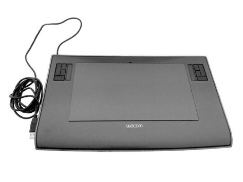 Wacom Bamboo Pen And Touch Tablet Cth460 Usb No Pen Tablet Only