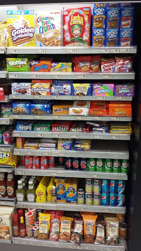 What 'American Food' Aisles look like in different countries