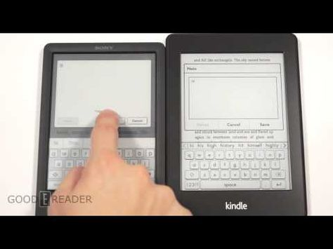 We compare the Sony PRS-T3 vs the Amazon Kindle Paperwhite