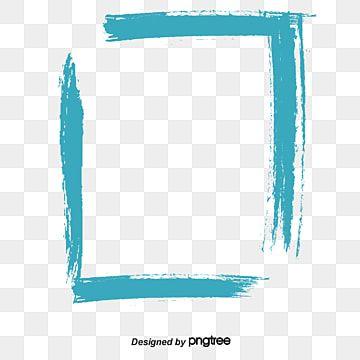Borde En Cepillo Cepillo Pintar Marco Png Y Psd Para Descargar Gratis Pngtree White Square Frame Clip Art Prints For Sale