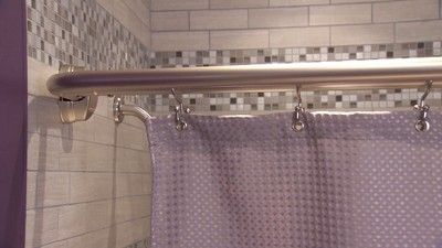Home Neverrust Double Curved Shower Rod Zenna Home With Images