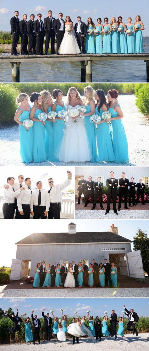 tiffany blaue Brautjungfernkleider bilder türkis blaugrün   Hochzeit ...