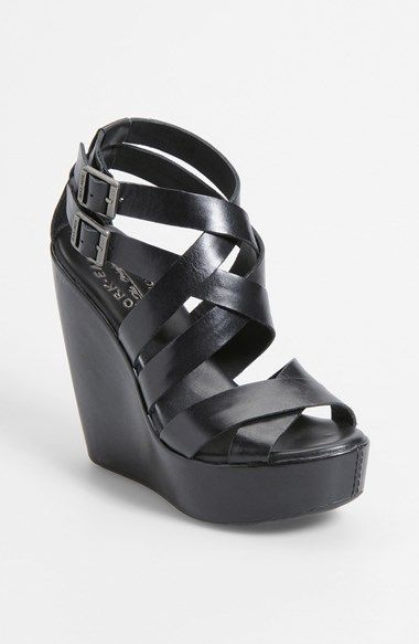 4fb0f009d2 Steve Madden Wanting Wedge Sandal available at #Nordstrom | My Style |  Shoes, Shoe boots, Wedge sandals