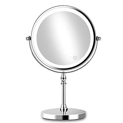 Brightinwd Vanity Mirror With Light Makeup Mirror 10x