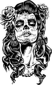 Pin De Kiara Menfis En De Caravelas Tatuajes De Calaveras