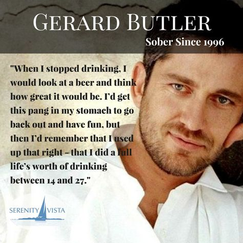 Gerard, we hear you! And we are super glad you sobered up so young. serenityvista.com