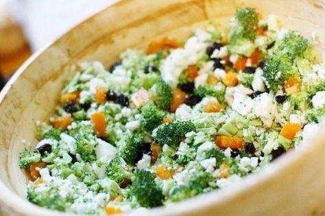 Salata cu ton si broccoli