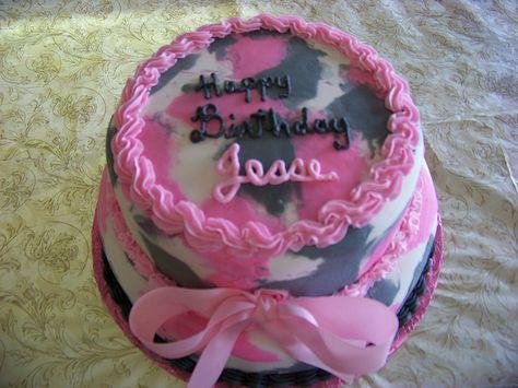Amazing Camo Birthday Cake Decorations With Images Camo