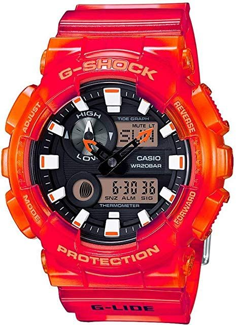 Men's 4a ReviewMen Shock Orange Watch Wrist Watches G 100msa Gax PN8n0Oymwv