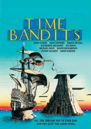 Time Bandits (1981)  I don't know why but when I was a kid I watched this movie EVERY time it was on lol