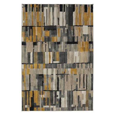 Mohawk Home Muse Bacchus Rug 8x11 Ft Mustard Rug Yellow Area
