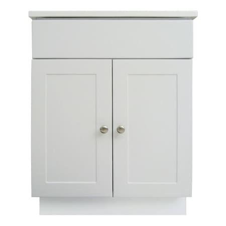 Design House 541607 White 24 Freestanding Vanity Cabinet With Marble Vanity Top Marble Vanity Tops White Bathroom Storage Vanity Cabinet