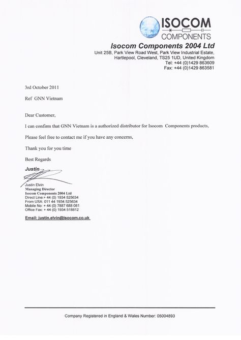 authorization letter format for distributor featured suppliers - sample reseller agreement