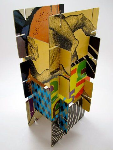 slot sculpture...group sculpture where everyone does a section and you put them all together?