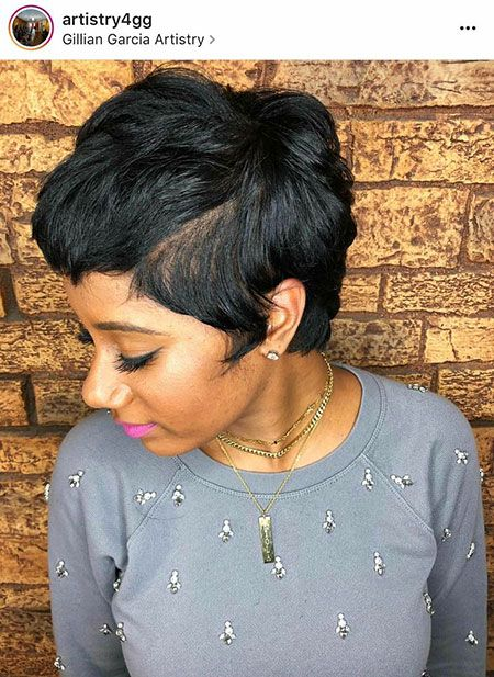 25 Short Relaxed Hairstyles In 2020 Short Relaxed Hairstyles Relaxed Hair Short Hair Styles