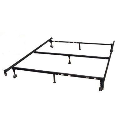 Heavy Duty 7 Leg Metal Bed Frame Adjust To Fit Twin Full Queen Metal Bed Frame Full Size Metal Bed Frame Queen Size Metal Bed Frame