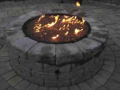 bond round gas fire pit 36 for the home pinterest fire rh pinterest com