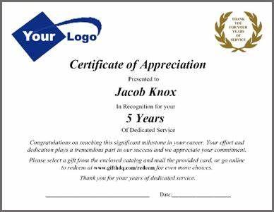 Employee Certificate Of Service Template Employee Certificate Of