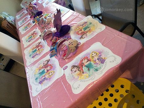 Disney Princess Birthday Party Ideas!