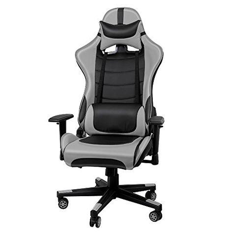 Exécutif chaise de bureau Ordinateur Gaming pivotant Home Cuir Réglable Bureau