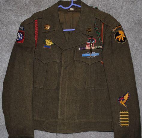 WWII Airborne Pathfinder Ike Jacket