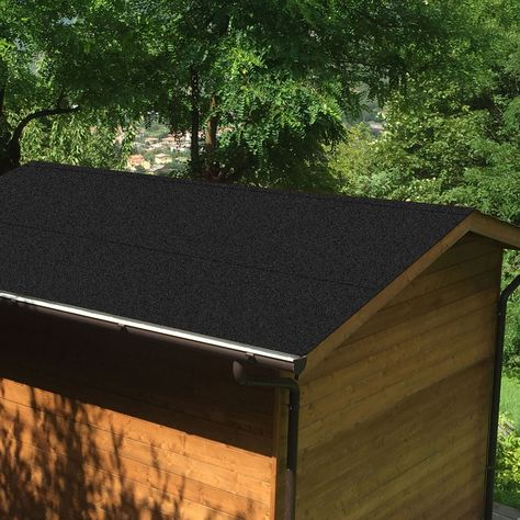 Roof Pro Black Super Shed Felt L 10m W 1000mm Black Shed B Q Shed