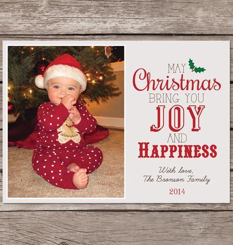 Custom Christmas Cards.Christmas Card With Photo Photo Christmas Card