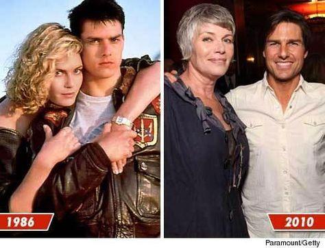 Tom Cruise and Kelly McGillis: Top Gun