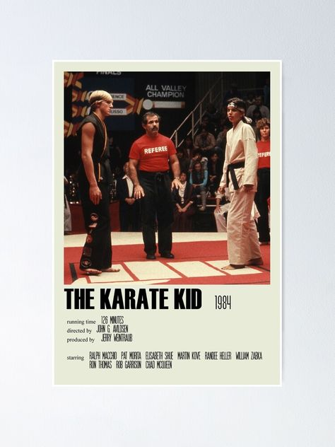 The Karate Kid (1984) Alternative Poster Art Movie Large (5) Poster by DesignsByElle