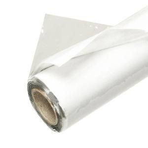 Frost King E O 48 In X 25 Ft Crystal Clear Plastic Vinyl Sheeting V4825 4a Vinyl Sheets Plastic Sheets Home Depot