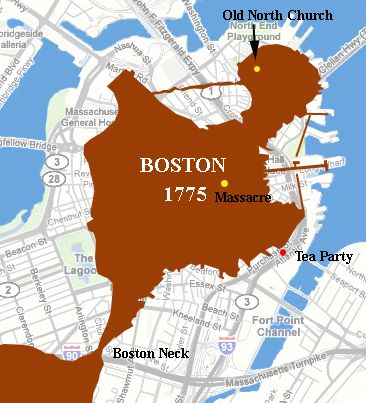 map of colonial boston area Pin By Julia Orlova On Boston Map Siege Of Boston American map of colonial boston area