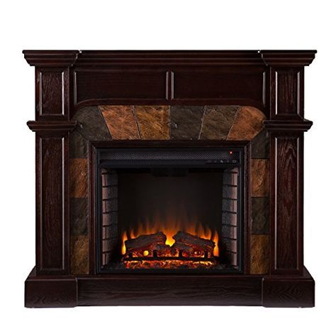 sei cartwright convertible electric fireplace review fireplace in rh pinterest com