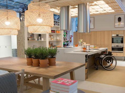 La cucina di Ikea per disabili | MCMaison_Arredo | Küche, Heim e ...