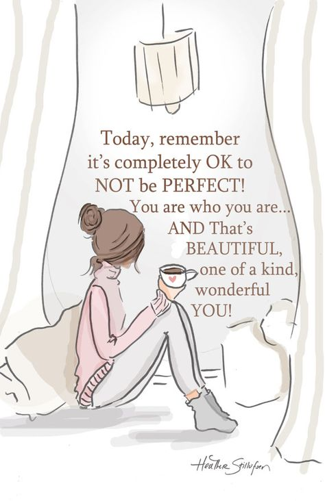 Planner Page -  It's OK Not To Be Perfect PLANNER Image -   Digital Planner Print -  Digital Art Print -  Wall Art -- Print