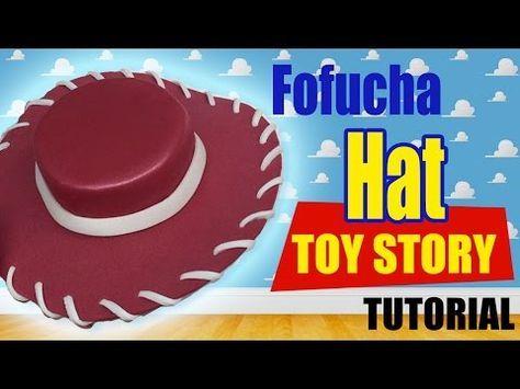 Cómo hacer sombrero de vaquero en foami para disfraz halloween de Woody Toy  Story Disney Pixar - YouTube  e56bcad3aa3