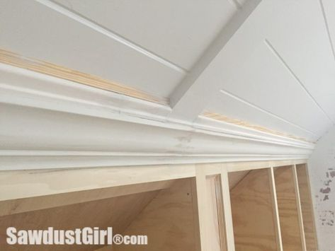 Crown Moulding On Angled Ceiling Ceiling Crown Molding Crown Molding Kitchen Molding Ceiling