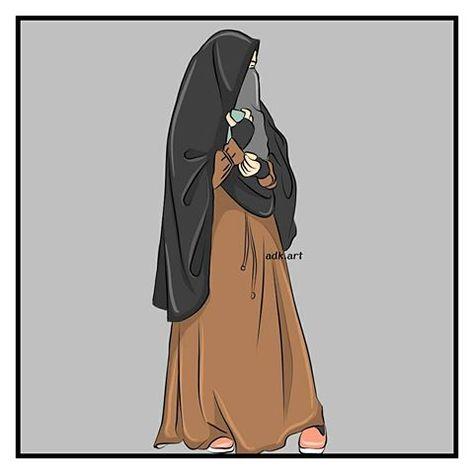 100 Kartun Muslimah 2 Ideas Anime Muslim Hijab Cartoon Islamic Cartoon