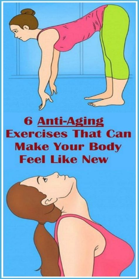 6 Anti-Aging Exercises That Can Make Your Body Feel Like New