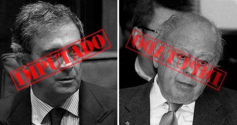 Jordi Pujol Ferrusola y Jordi Pujol Soley.: