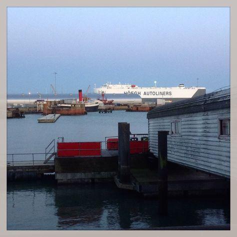 ferry terminal.