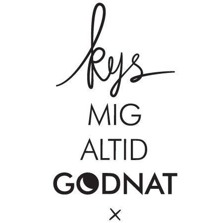 kys godnat skat wallsticker | sweet lines | pinterest