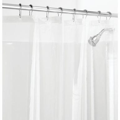 Peva Shower Curtain Liner For Bath 72 X 72 Bathroom Color