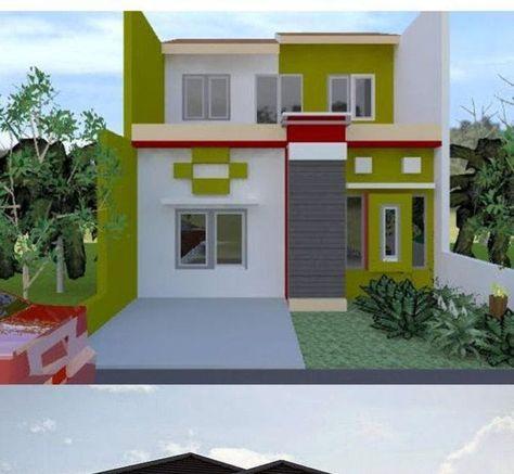Gambar Kombinasi Warna Cat Dinding Luar Rumah Terbaik Contoh Warna