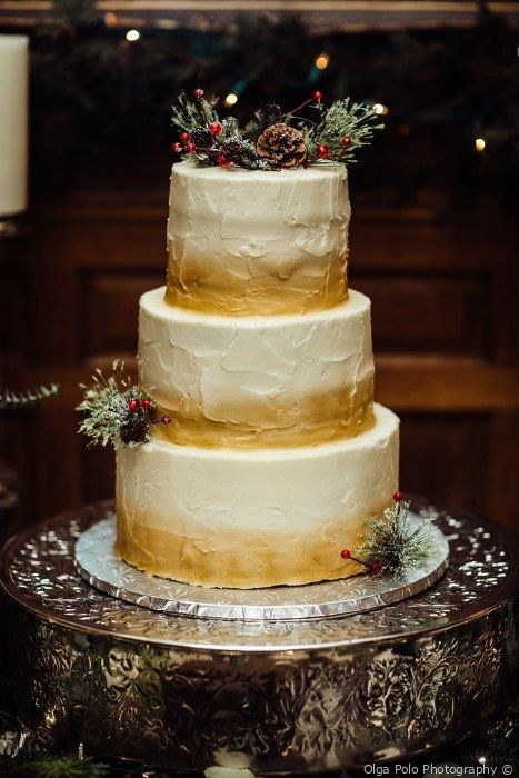 Jenny And Chris S Wedding In Cincinnati Ohio Wedding Cake