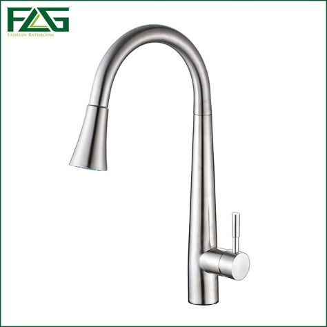 flg pull out kitchen faucet 304 stainless steel pot with tap all rh pinterest com