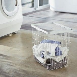 Tower Waschekorb L Weiss Wire Laundry Basket Laundry Basket