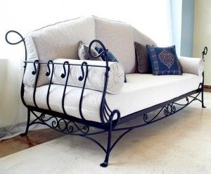 53 Wrought Iron Sofa Ideas Armchair Sofa Wrought Iron