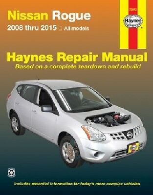 Advertisement Ebay Repair Manual Sl Haynes 72042 Fits 10 11 Nissan Rogue Nissan Rogue Repair Manuals Repair